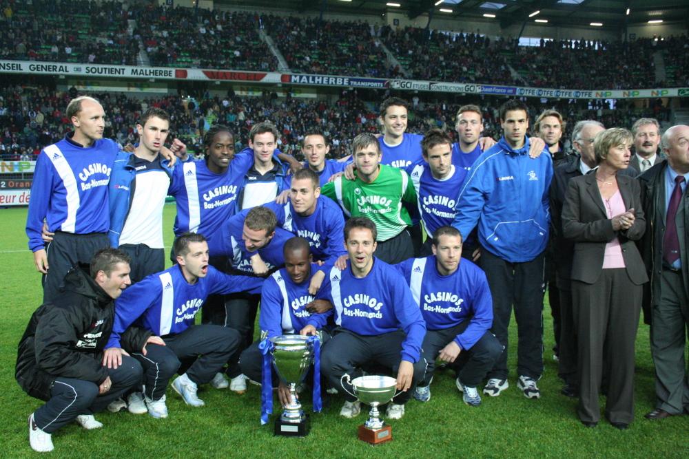 L'équipe vainqueur de la Coupe de Basse-Normandie en 2007