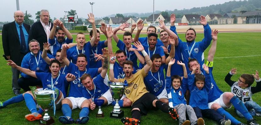 L'équipe vainqueur de la Coupe de Basse-Normandie en 2017