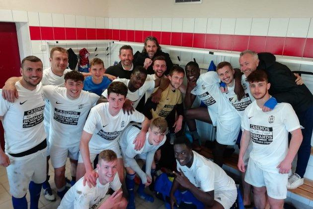 L'équipe vainqueur de la nouvelle Coupe de Normandie