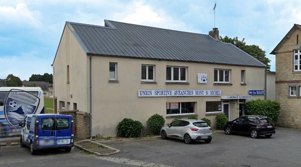 Club house US Avranches Mont Saint-Michel