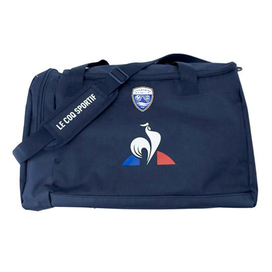 Sac de sport bleu officiel de l'US Avranches Mont-Saint-Michel