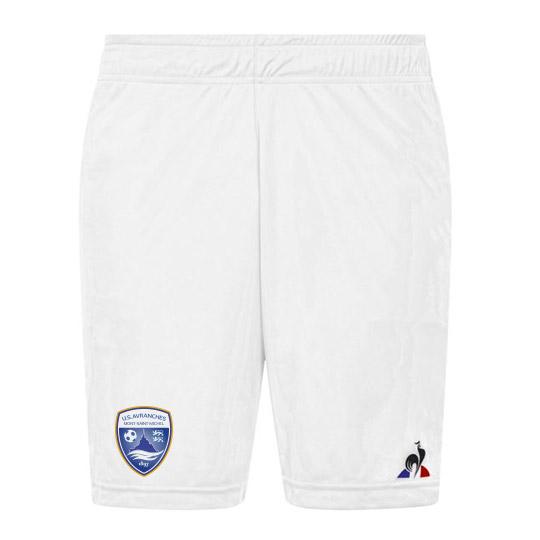 Short blanc officiel de l'US Avranches Mont-Saint-Michel